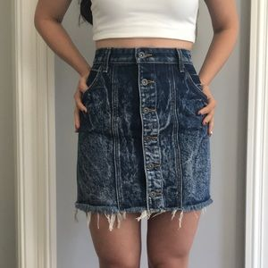 LF CARMAR denim skirt brand new!
